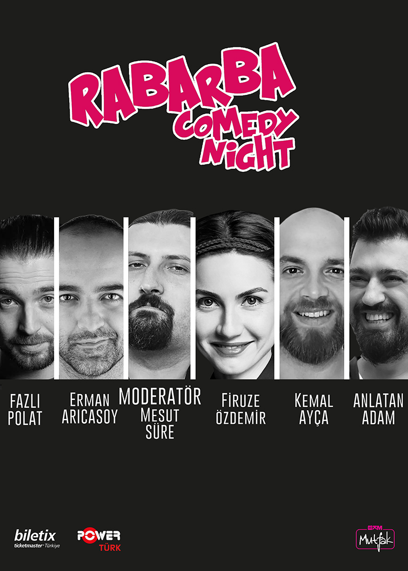 RABARBA COMEDY NIGHT